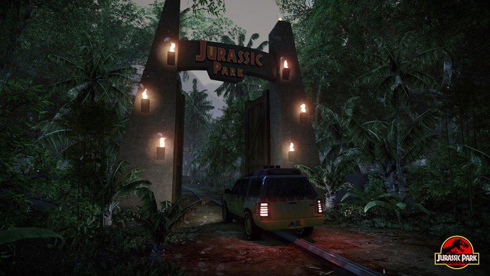 Jurassic Park Fan Projekt Wiederbelebt Pixelburg