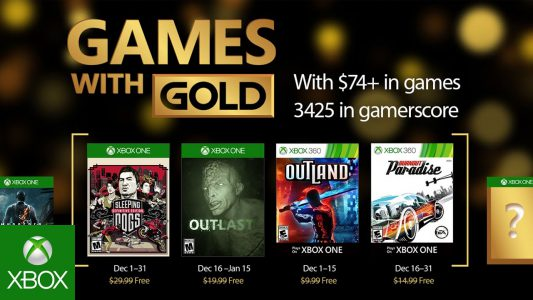 Games with Gold Dezember 2016