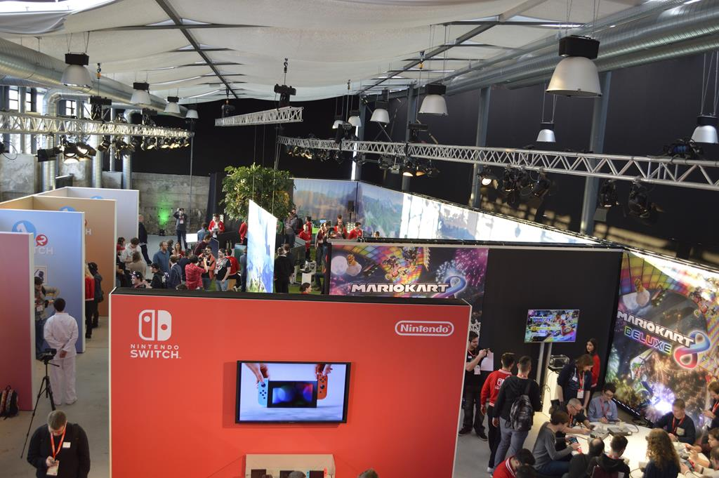 Nintendo Switch München Location