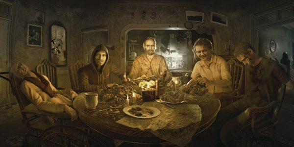Resident Evil 7 Keyart Diner