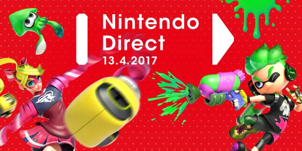 Nintendo Direct 13. April 2017