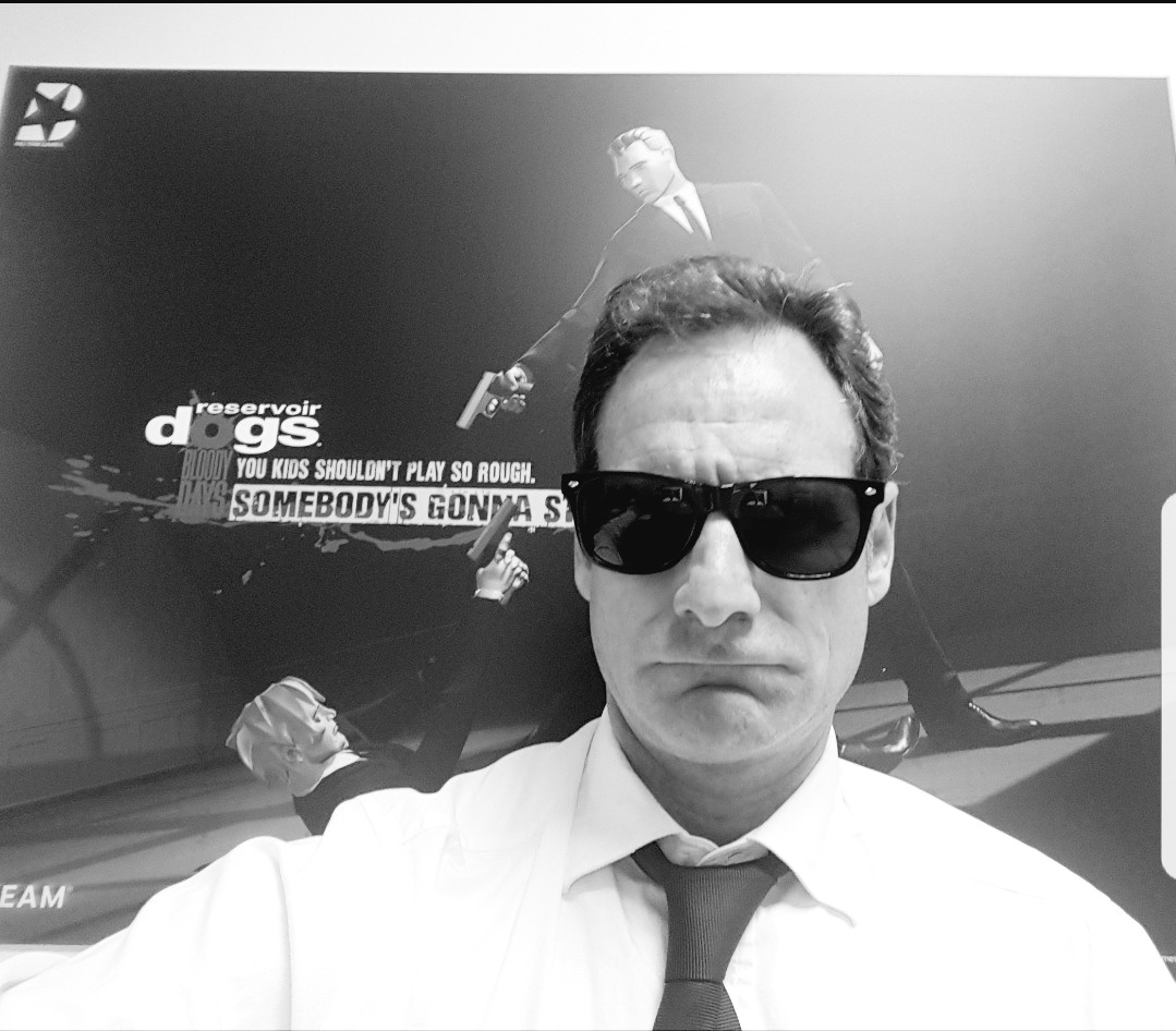 Reservoir Dogs Bloody Days Photo_B&W_LIAM PATTON
