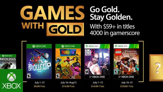 games with gold juli 2017