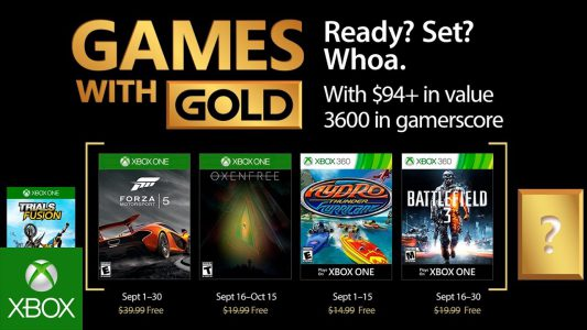 Games with Gold September 17