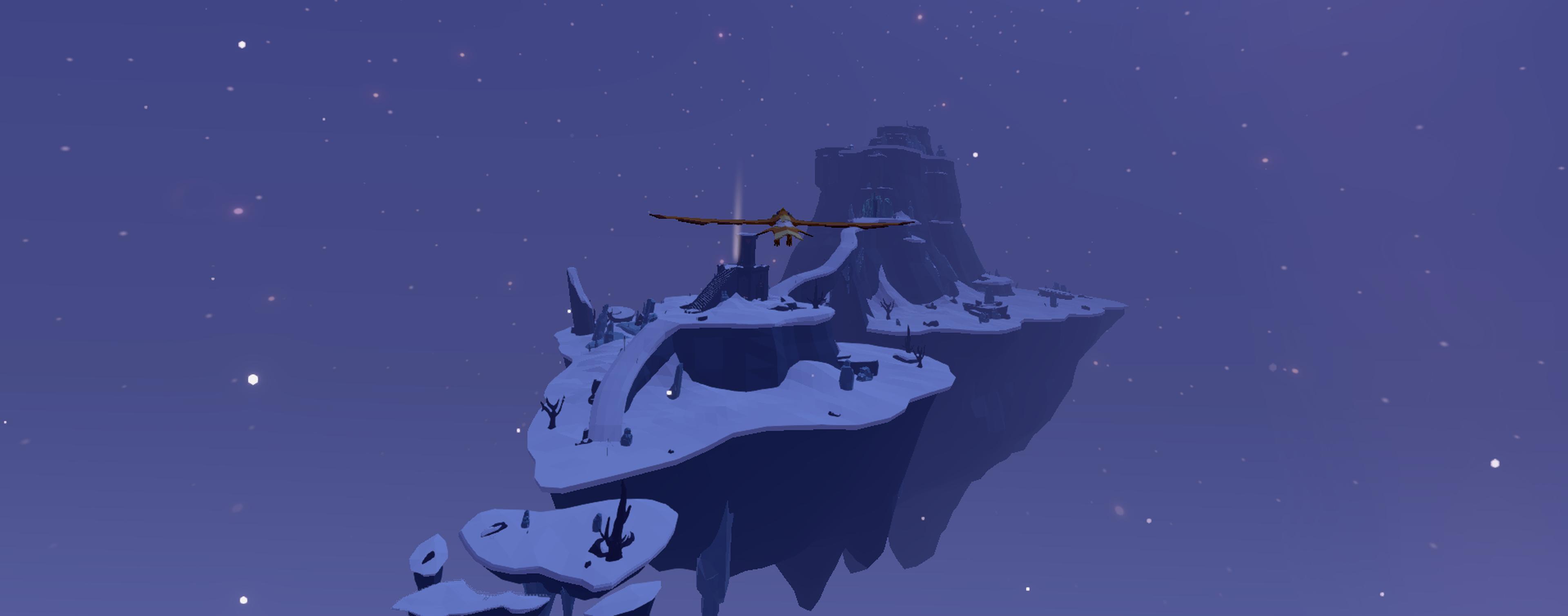 AER - Vogel-Auk im Schneegebiet