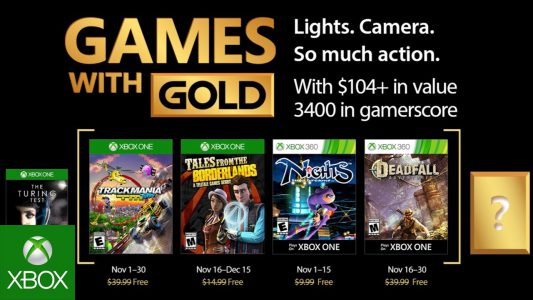 games with gold november 2017